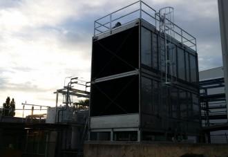 Nestle, Blayney, NSW. Stainless Steel SPX NC Tower installation